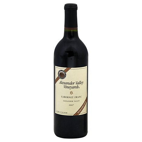 Alexander Valley Cab Franc Wine - 750 Ml