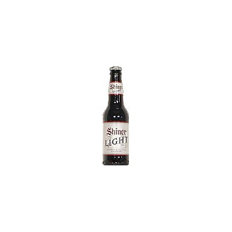 Shiner Blonde Light Beer Bottles - 12-12 Fl. Oz.