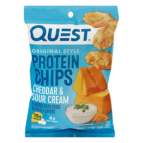 Quest Protein Chip Cheddar & Sour - 1.125 Oz