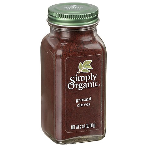 Simply Organic Cloves Ground - 2.82 Oz