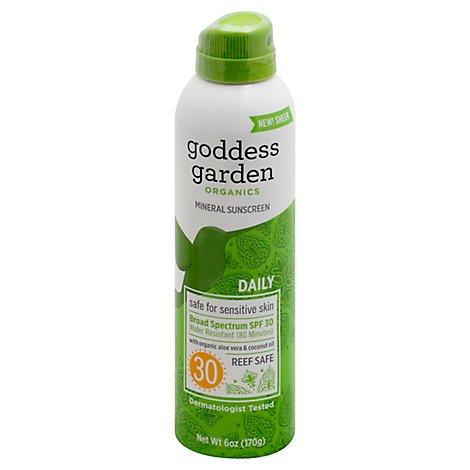 Godde Sunscreen Ntrl Spry Conti - 6.0 Oz