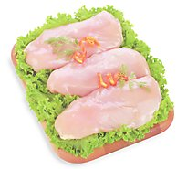 Smart Chicken Breasts Boneless Skinless Air Chilled Tray Pack - 1.00 LB