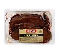 Meat Counter Beef Liver Sliced Fresh - 1 LB