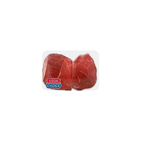 Meat Counter Beef USDA Choice Bottom Sirloin Petite Steak Valu Pack Restaurant Cut - 2 LB