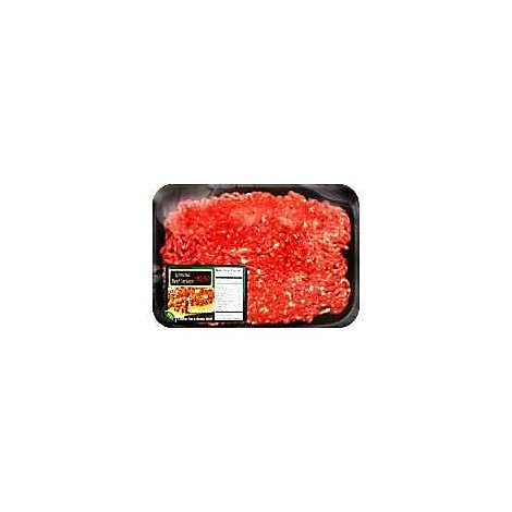 Ground Beef 90% Lean 10% Fat Sirloin Case Ready - 1.00 LB