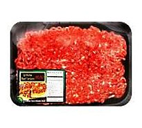 Meat Counter Beef Ground Beef 90% Lean 10% Fat Sirloin Case Ready - 1.00 LB