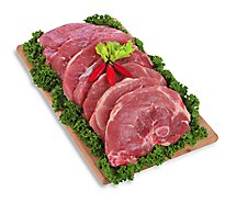 Meat Counter Pork Sirloin Chops Bone In Value Pack - 6 LB