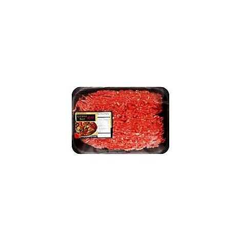 Meat Counter Beef Certified Angus Beef Ground Beef 91% Lean 9% Fat - 1.00 LB