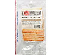 Primo Taglio Cheese Muenster Pre Sliced - 0.50 LB
