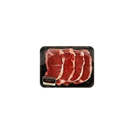 Certified Angus Beef Loin Strip Steak Thin - 1 LB