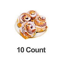 Bakery Cinnamon Rolls 10 Count - Each