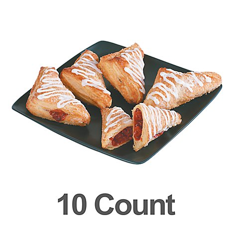 Bakery Turnover Cherry & Apple 10 Count - Each