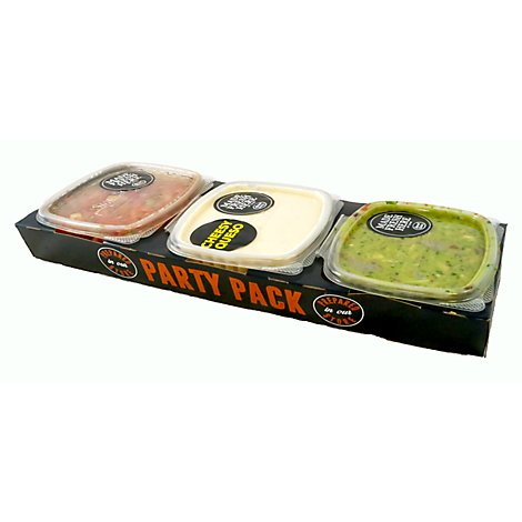Party Tray 3 Ct Dip Tray- 38 Oz