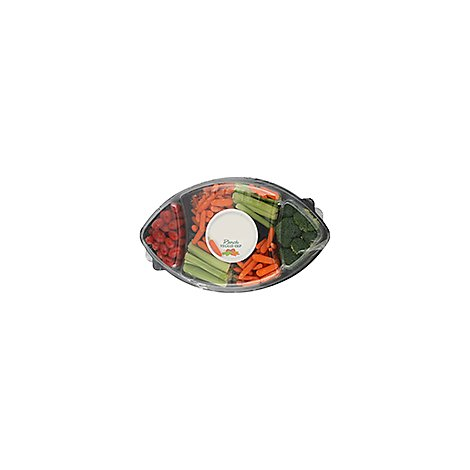 Vegetable Tray With Dip - 40 Oz