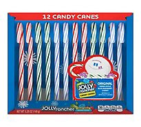 Jolly Rancher Candy Canes Holiday Assortment - 5.28 Oz
