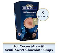 Ghirardelli Hot Cocoa Mix With Chocolate Chips - 8 Oz