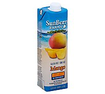 Sunberry Farms Juice Mango 100% - 33.81 Fl. Oz.