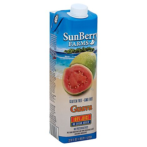 Sunberry Farms Juice Guava 100prcnt - 33.81 Fl. Oz.