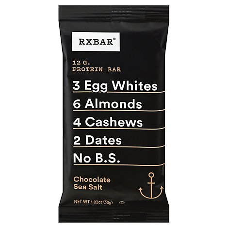 RXBAR Protein Bar Chocolate Sea Salt - 1.83 Oz