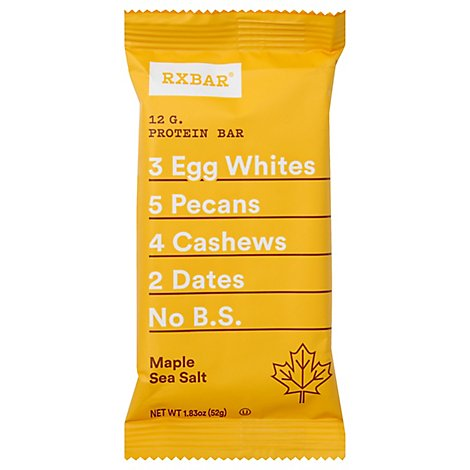 RXBAR Protein Bar Maple Sea Salt - 1.83 Oz
