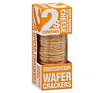 2s Company Cracker Wafer Sesame - 3.5 Oz