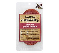 Boars Head Salame Genoa Simplicity Per Slice All Natural - 4 Oz