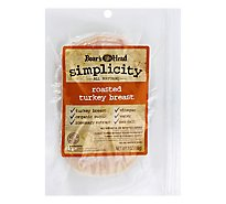 Boars Head Simplicity Per Slice Natural Roasted Turkey Breast - 7 Oz