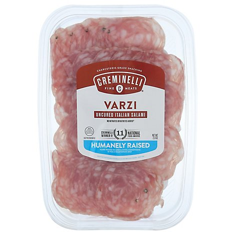 Creminelli Varzi Salami Sliced - 2 Oz