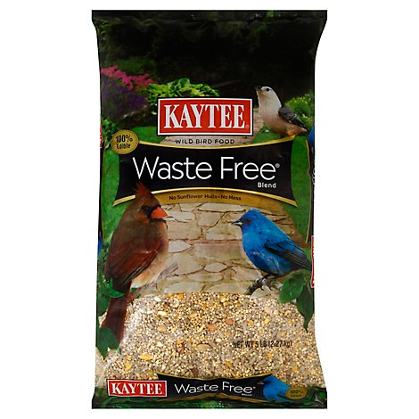 Kaytee Pet Food Wild Bird Waste Free Blend Bag - 5 Lb