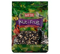 Kaytee Pet Food Wild Bird Nut & Fruit Blend Bag - 5 Lb