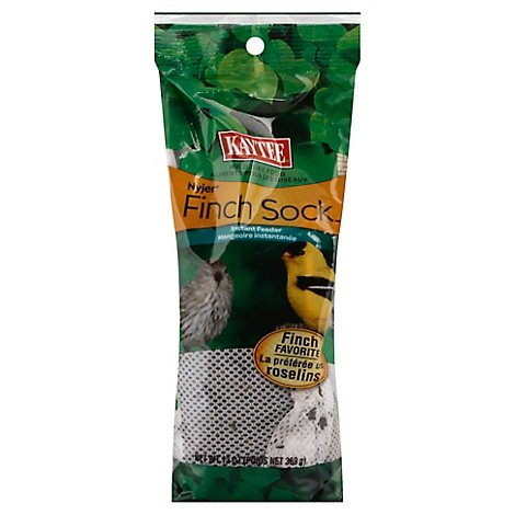 Kaytee Pet Food Wild Bird Instant Feeder Finch Sock Pouch - 13 Oz
