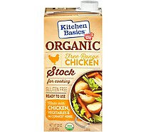 Kitchen Basics Organic Chicken Stock Free Range - 32 Oz