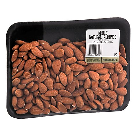 Hines Whole Almonds - 12 Oz