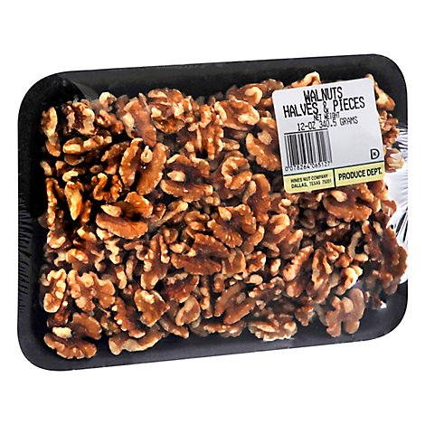 Hines Walnut Halves/Pieces - 12 Oz