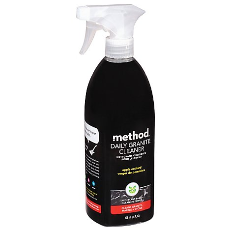 Method Daily Granite Cleaner Cleans + Polishes Granite Marble & Stone Apple Orchard - 28 Fl. Oz.