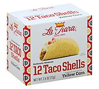 La Victoria Taco Shells Yellow Corn Box 12 Count - 2.5 Oz