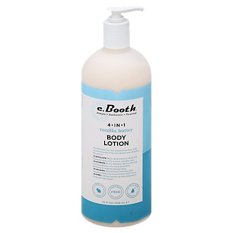 C Booth 4n1 Lotion Vanilla - 32 Z
