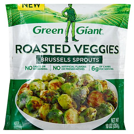 Green Giant Roasted Veggies Brussel Sprouts - 10 Oz