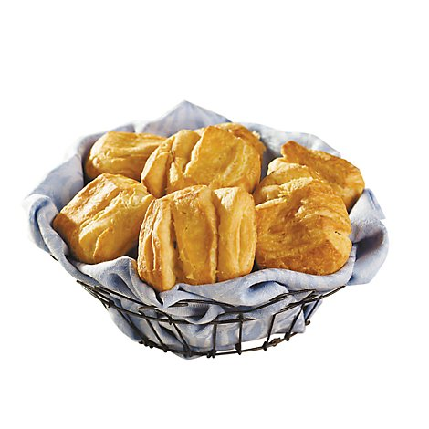 Bakery Rolls Butterflake - 6 Count