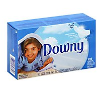 Downy Fabric Softener Sheets Clean Breeze Box - 105 Count