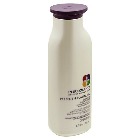 Pureology Perfect 4 Platinum Shampoo for Colour-Treated Hair - 8.5 Fl. Oz.