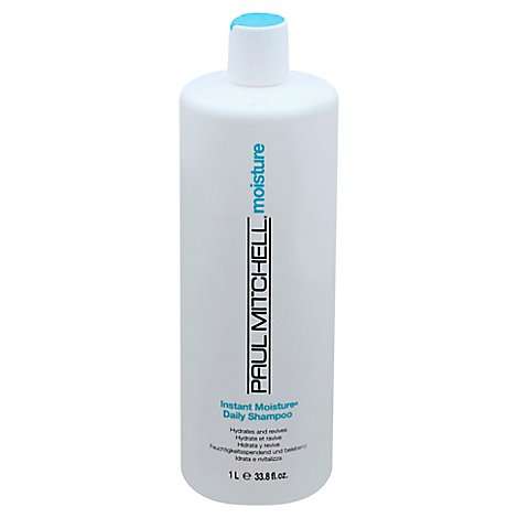 Paul Mitchell Shampoo Instant Moist - 33.8 Oz
