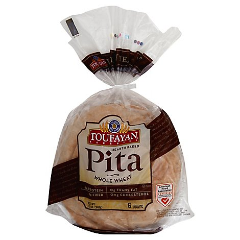 Tf Pita Bread Wheat - Each