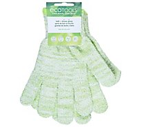 Ecotools Bath & Shower Gloves - Each