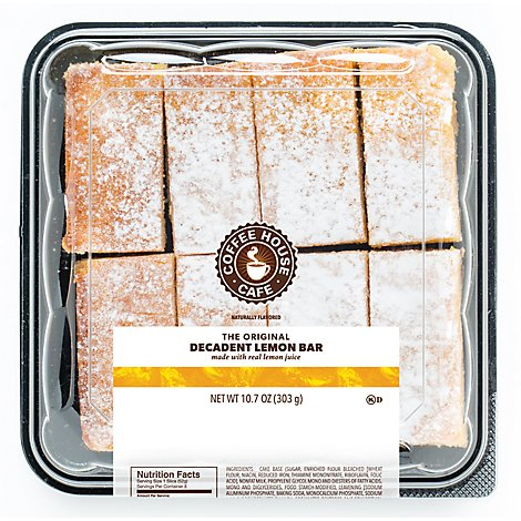 Bars Lemon Coffee Hse H/C - Each Oz