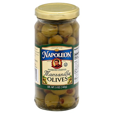 Napoleon Olives Stuffed Pimiento - 5 Oz