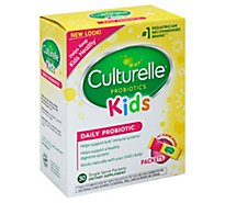 Culturelle Kids Probiotic Supplement Daily Single Serve Packets - 30 Count