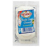 President Cheese Goat Fresh Creamy & Mild - 4 Oz