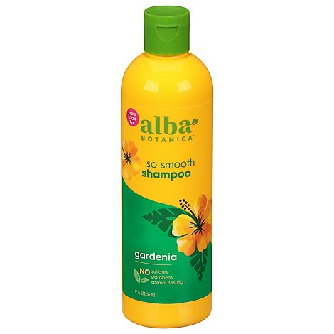 Alba Botanica Hawaiian Shampoo So Smooth Gardenia - 12 Oz