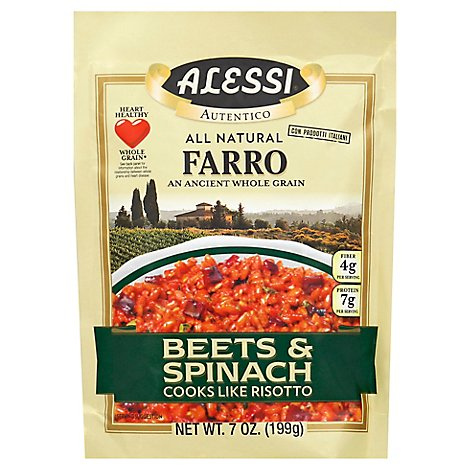 ALESSI Autentico Farro Beets & Spinach Bag - 7 Oz